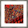 Glass And Beads Framed Print