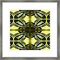 Glass Art 01 Framed Print