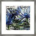 Glass Lilies Framed Print