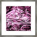 Glass Macro Abstract Rbwce1 Framed Print by David Patterson