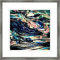 Glass Macro Abstract Rpoce Framed Print by David Patterson