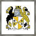 Glennon Coat Of Arms Irish Framed Print