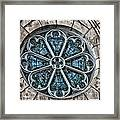 Glorious Church Stained Glass Framed Print