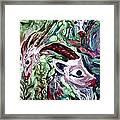 Goats Framed Print