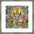 Goddess Of Asia Framed Print