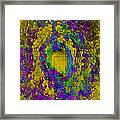 God's Fingerprint - Extruded Framed Print by Colleen Cannon