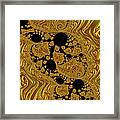 Gold Forming Framed Print