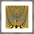 Golden Slings Framed Print