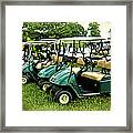 Golfers Take Your Pick Framed Print