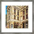 Gonzales County Old Jail Museum - Gonzales Texas Framed Print