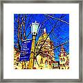 Good Vision By The Administration Building Framed Print