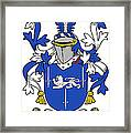 Gorman Coat Of Arms Irish Framed Print