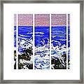 Gottah See Waves  Framed Print