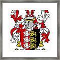 Grady Coat Of Arms Irish Framed Print