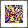 Graffiti 4 Framed Print