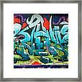 Graffiti 6 Framed Print
