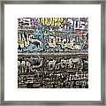 Graffity Reflection Framed Print