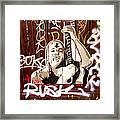 Grafiti Framed Print by Sharon Costa