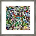 Grafitti Dream Framed Print