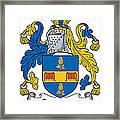 Grainger Coat Of Arms Irish Framed Print