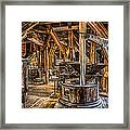 Grains Of Time Framed Print