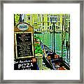 Grand Canal Scene Framed Print
