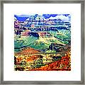 Grand Canyon After Monsoon Rains Framed Print