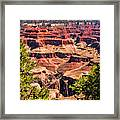 Grand Canyon Valley Framed Print