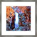 Grand Canyon Waterfall Framed Print