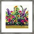 Grandchildren's Bouquet Framed Print