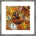 Grandfather Time Hdr Framed Print