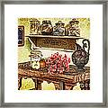 Grandma's Kitchen Framed Print by Mo T