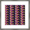 Grapes Fruit Pattern Health Background Designs  And Color Tones N Color Shades Available For Downloa Framed Print