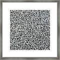 Gray Granite Framed Print