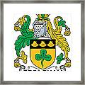 Greaghan Coat Of Arms Irish Framed Print