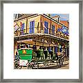 Green Carriage  Framed Print