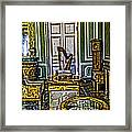 Green Room - Russia Framed Print
