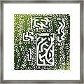 Green Simplicity Framed Print