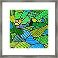 Green Spring Morning Framed Print