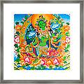 Green Tara 12 Framed Print