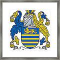Gregory Coat Of Arms Irish Framed Print