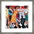 Groovin High In Nyc Framed Print