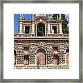 Grotesque Gallery In Real Alcazar Of Seville Framed Print