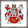 Grymes Coat Of Arms Irish Framed Print