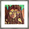 Guardians Of The Forest Framed Print