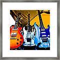 Guitar Trio Framed Print