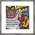 Gunfire At Indian Gap, L-r Vera Framed Print