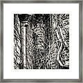 Gutter Pipe Framed Print