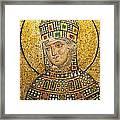 Hagia Sofia Mosaic 01 Framed Print