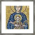 Hagia Sofia Mosaic 05 Framed Print